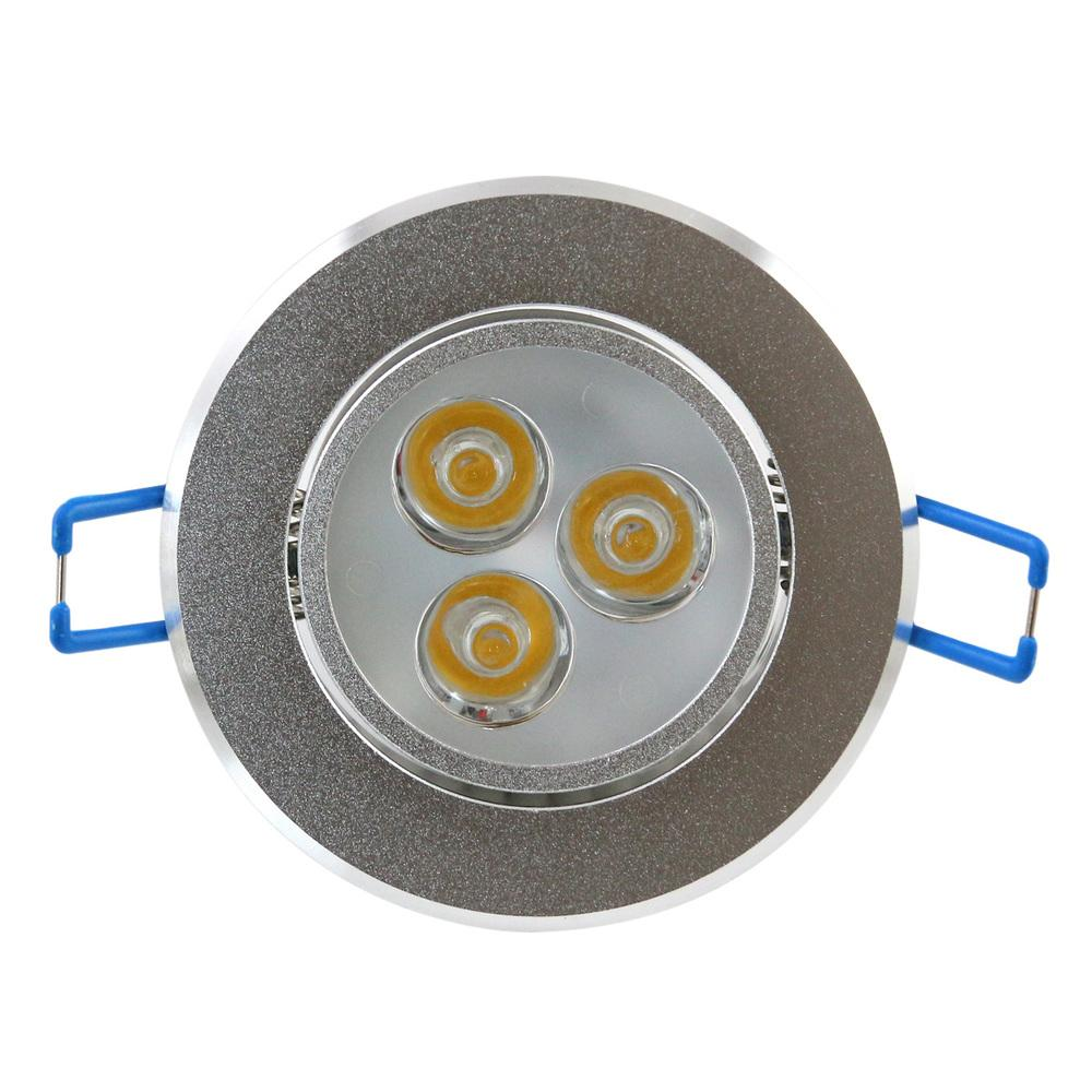 3W LED Plafonnier Downlight Epistar LED Plafonnier Encastré Spot Light 85V-245V pour La Maison Illumination /