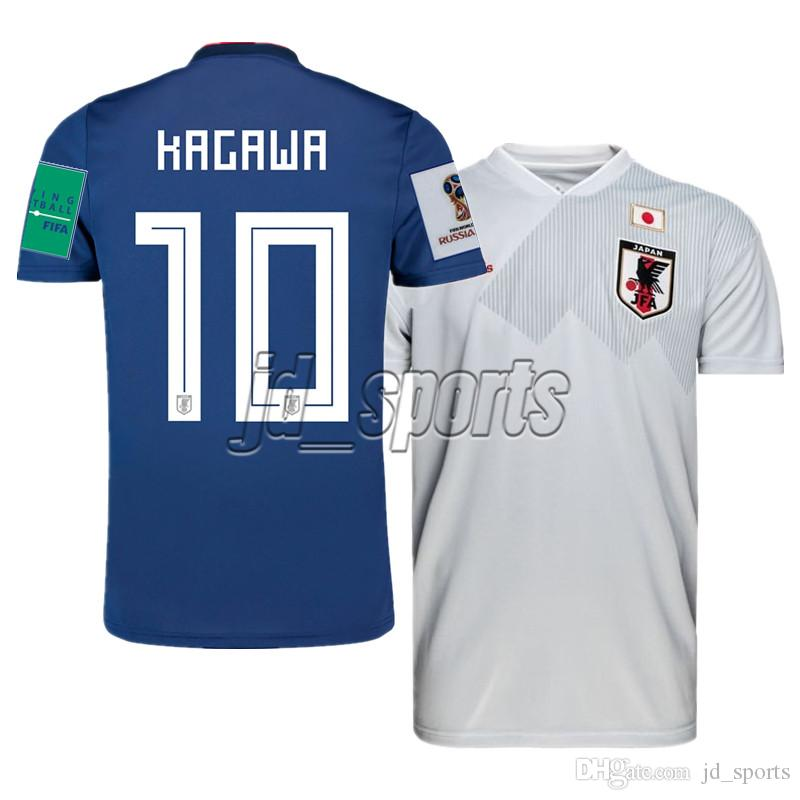 newest d6030 2e66b 2018 World Cup Japan National Team Home Away Futbol Camisa Soccer Jerseys  Football Camisetas Shirt Kit Maillot