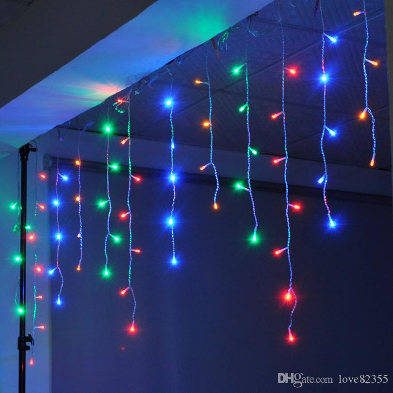 Christmas lights outdoor decoration 10 meter droop 03 05m led christmas lights outdoor decoration 10 meter droop 03 05m led curtain icicle string lights new year wedding party garland light globe string lights patio aloadofball Choice Image