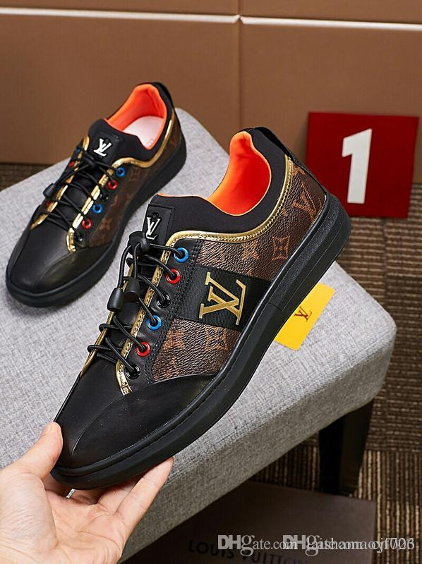 bf8dad9cda94 Brand New Arrival Luxury Brand Kanye West Shoes Brown Genuine Leather High Top  Lace Up Fashion Casual Shoes High Quality Men Flats Sneakers Footwear Bass  ...