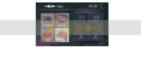Lippenmikropigmentierungs-Tätowierungs-Maschine mit -intelligentem Stift-Edelstahl-Material