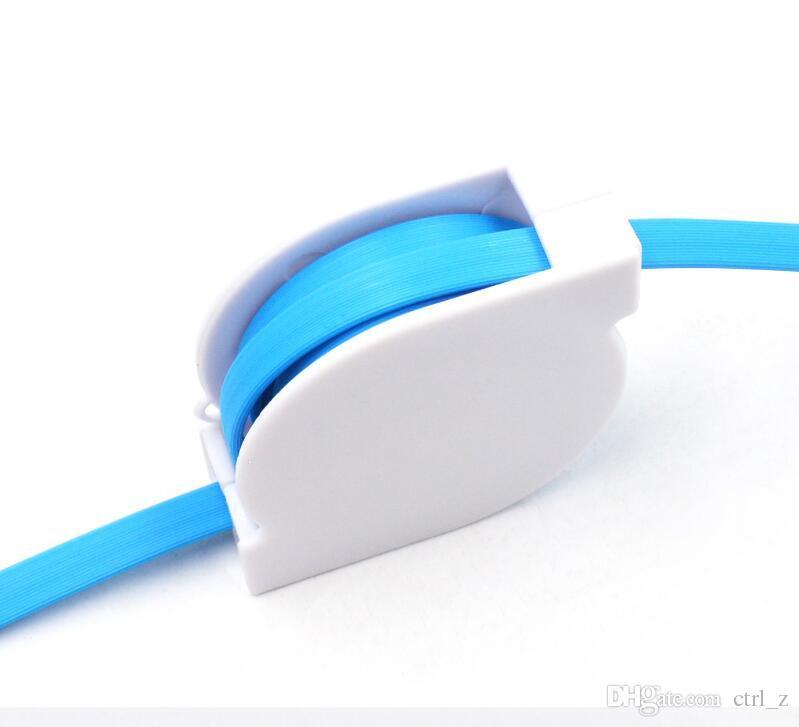 2 en 1 micro câble rétractable 1m chargeur données Sync mâle câble rétractable chargeur câble pour Samsung pour tout téléphone portable