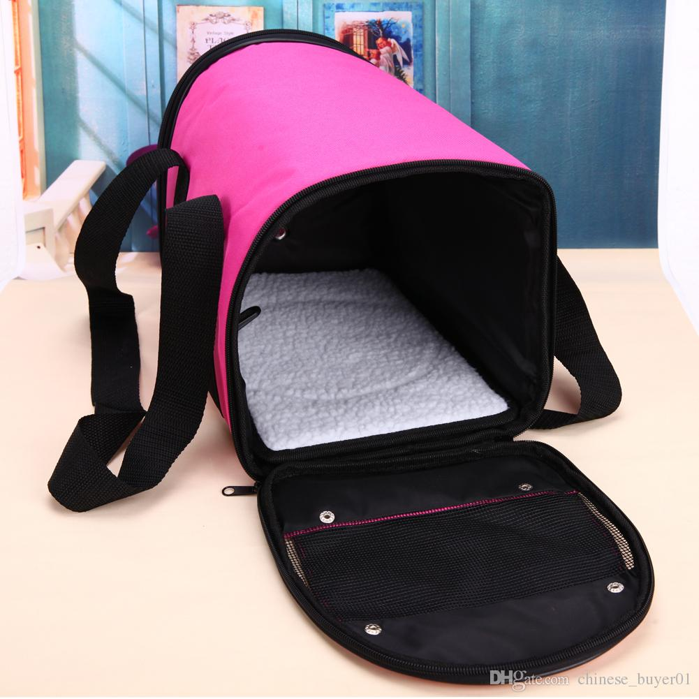 Factory Free Shipping Pet Dog Carrier Car Seat Pad Safe Carry House Cat Puppy Bag Car Travel Accessories Waterproof Dog Seat Bag Basket