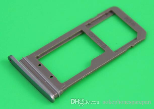 Reemplazo caliente del envase de la bandeja de la ranura del tenedor de tarjeta de la venta SIM para Samsung Galaxy S6 S7 S7edge