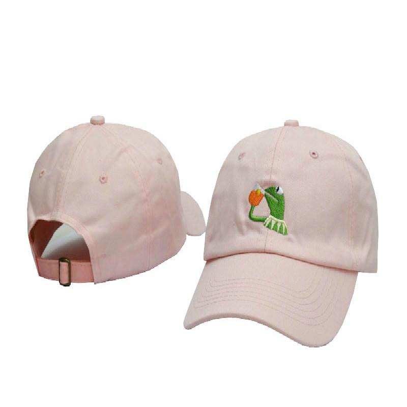 331b88a7c 100% Cotton Rose Embroidery Hat Blank Snapback Hip Hop Dad Cap ...