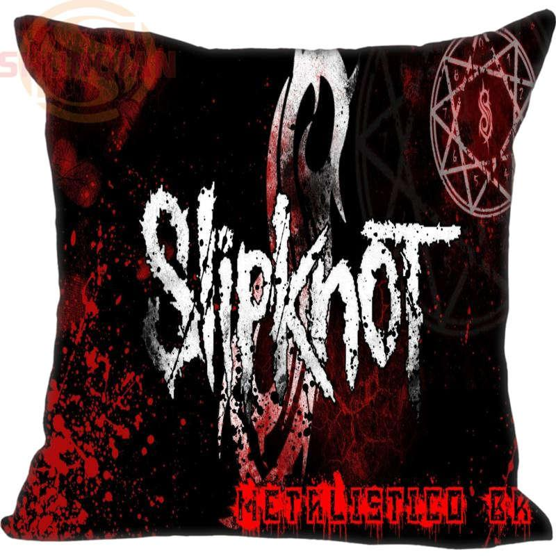 New Arrival Slipknot Logo 198 Pillowcase Wedding Decorative Pillow