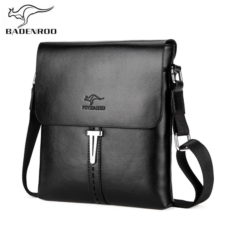 45c5305f3291 Badenroo Brand Casual Men Bag Business PU Leather Men Messenger Bags ...