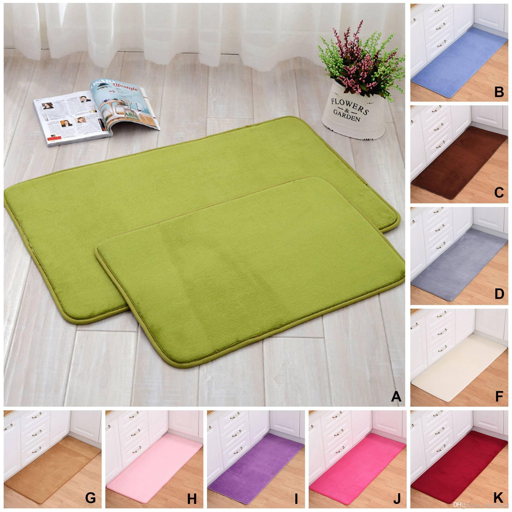 Arten Rectangle Teppiche dichten Flusen Teppich Badezimmer rutschfeste  Fitness Yoga Bodenmatte Drop Shipping