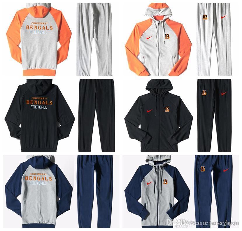 Cincinnati Bengals Men S Print Full Zip Sports Wear Men S Sport Suit ... 59e99ebae0f9