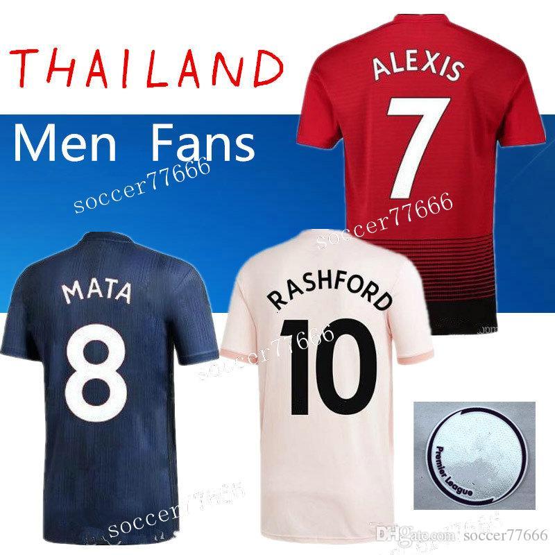 7de85c54a AAA S-4XL 18 19 ALEXIS 7 LUKAKU 9 Soccer Jerseys 2018 2019 Home Away ...