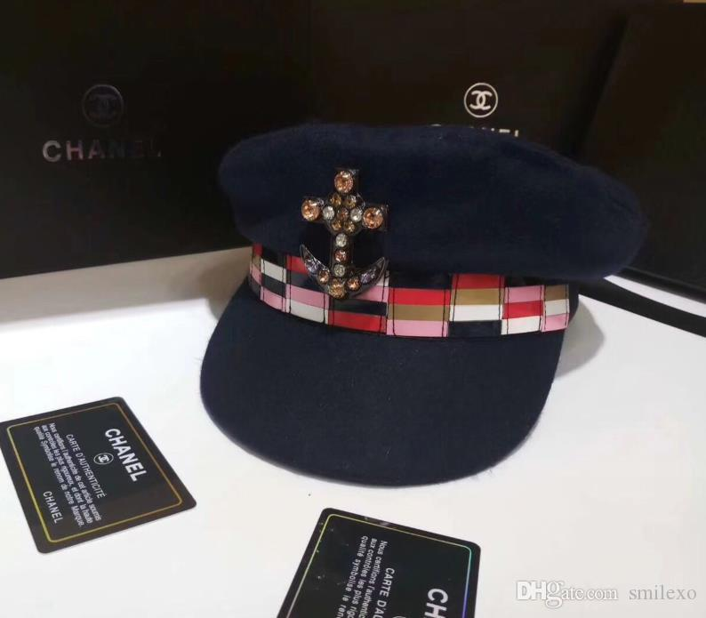 new products 67e57 9e236 ... low price 2019 2018 new female hat manufacturer wholesale classic brand  high quality fashion mosaic navy