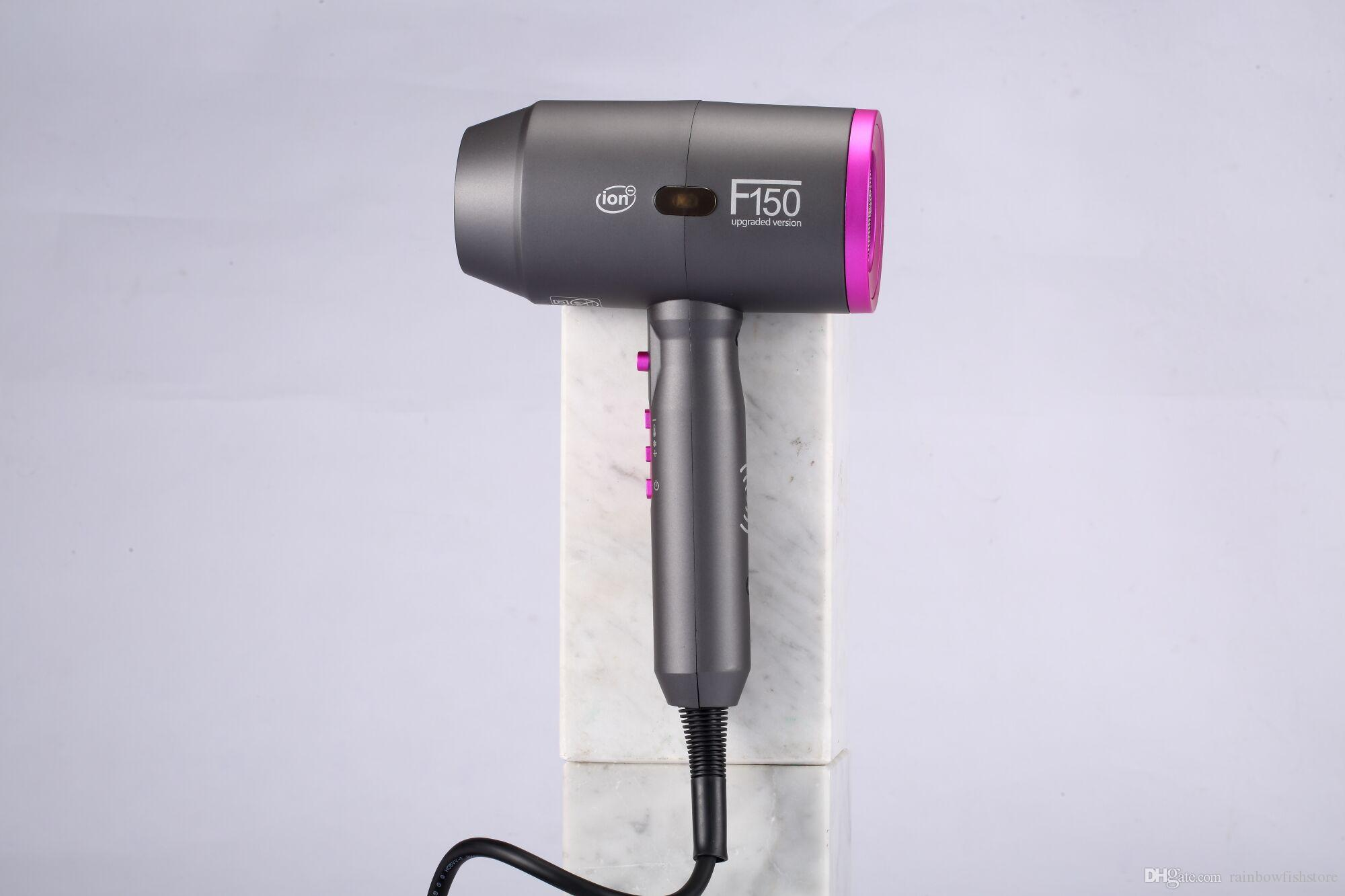 Creative Design Smart Power Off Continuously Variable Speed High Anion Concentration F150 Professional Hair Dryer Use For Barber Household