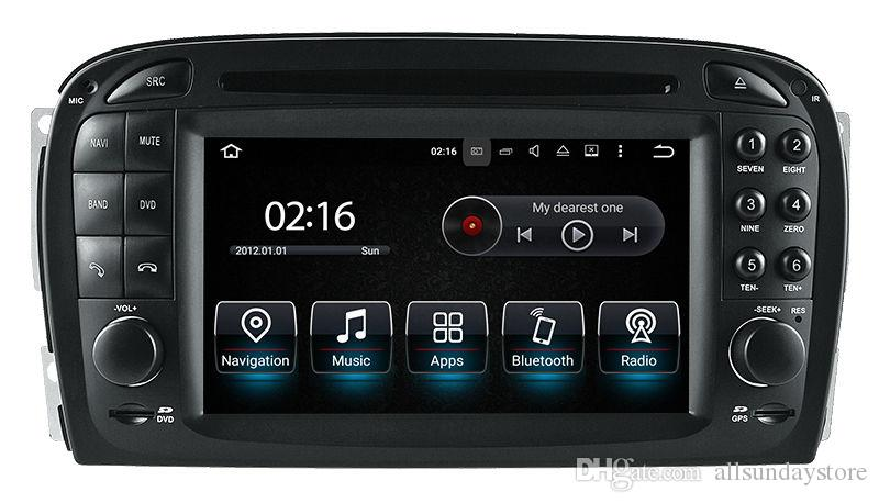 Android 8 0 Car Dvd Player For Mercedes Benz Sl R230 2001