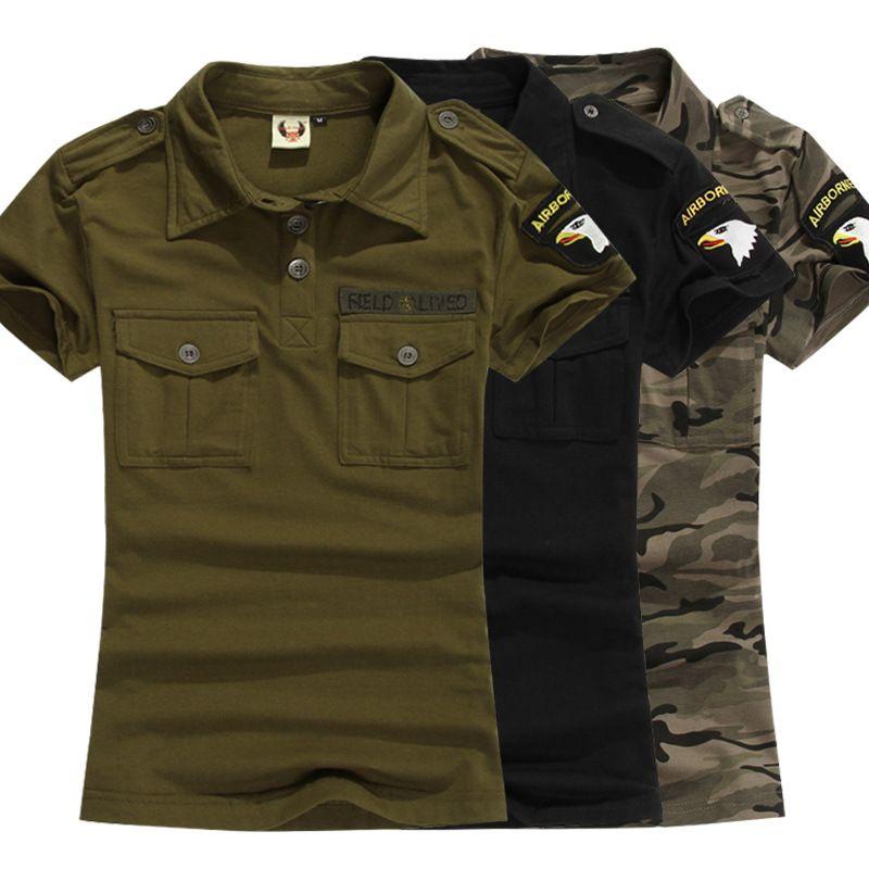 c2b8c9b45baa1 Acheter Uniforme Militaire Armée Green Cotton T Shirts Femme Manches  Courtes Été Camouflage T Shirt Tops Casual Big Size 4Xl 5Xl De $23.81 Du  Tangonel ...