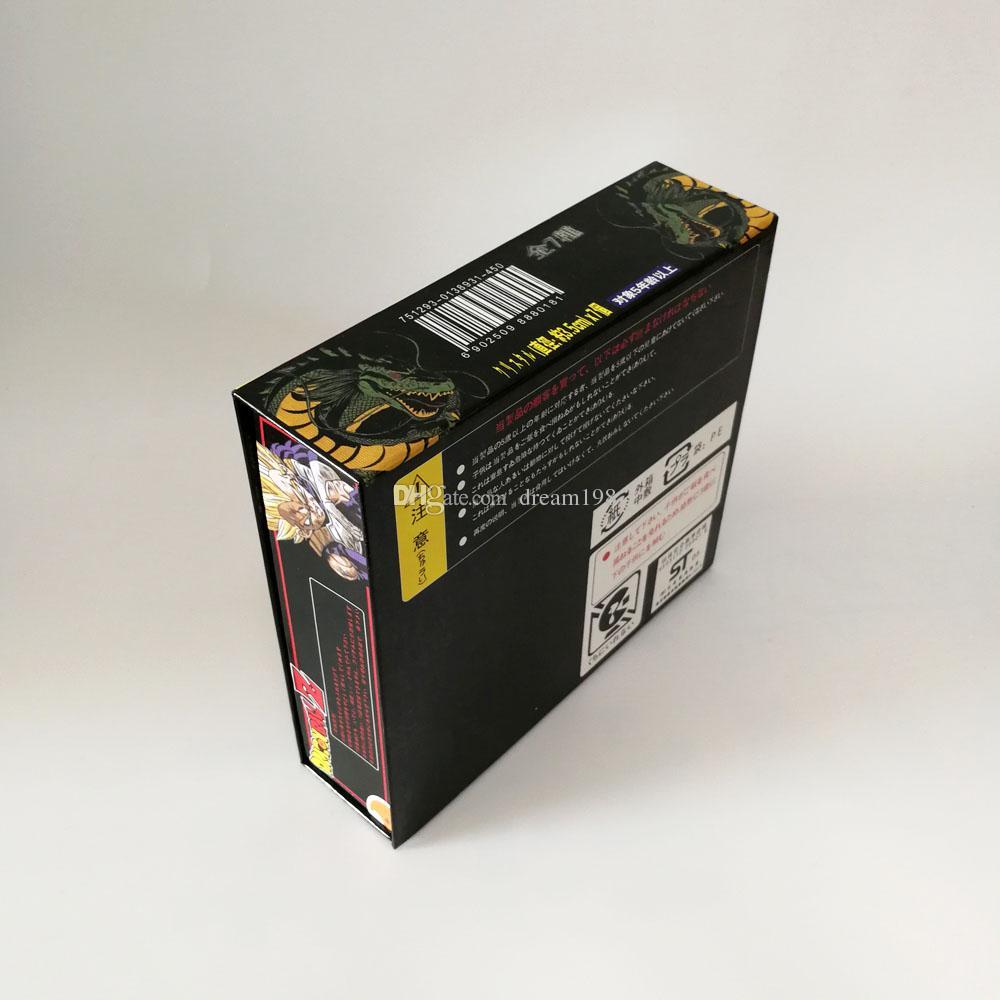 جديد كريستال التنين في صندوق التنين الكرة Z كرات كاملة عمل الشكل لعبة لأفضل الهدايا / لوط - الحجم: 3.5CM DR1