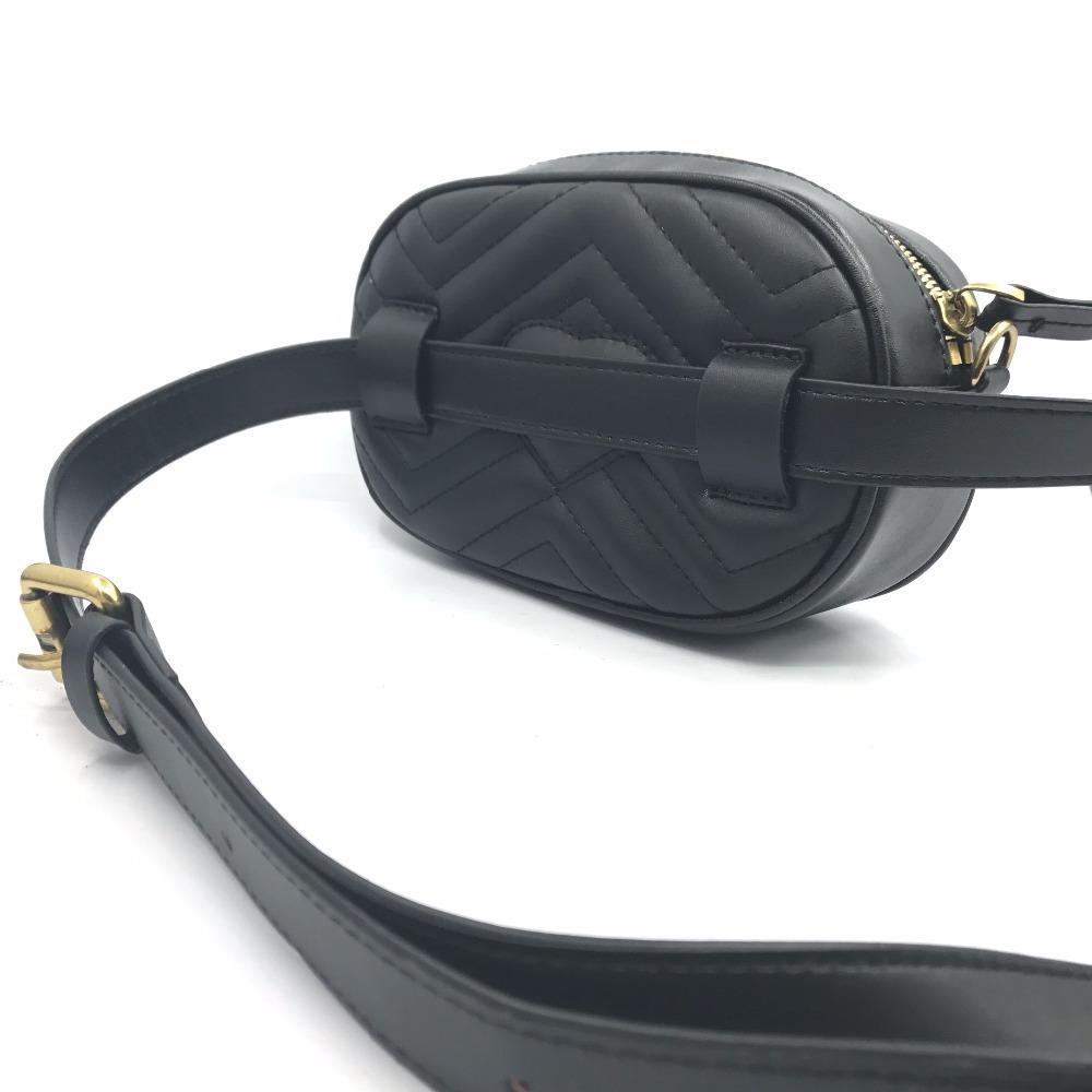 HOT Women Waist Bag Shoulder Messenger Chain Bag Classic Big Design ... b9499f091659e