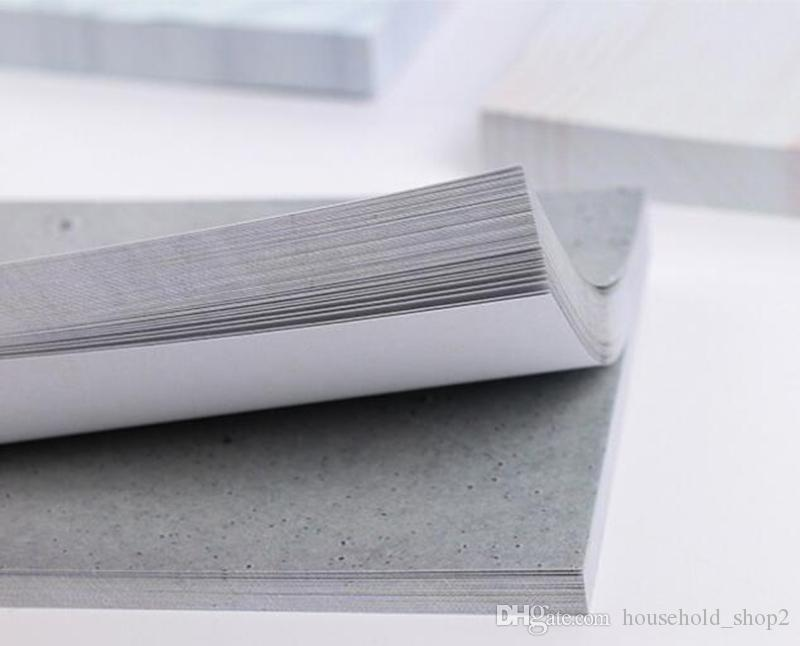 MINI mermer yapışkan not renk mermer yapışkan Notlar Bloknot Yapışkan Bloknotlar Okul Ofis ev notları Tedarik