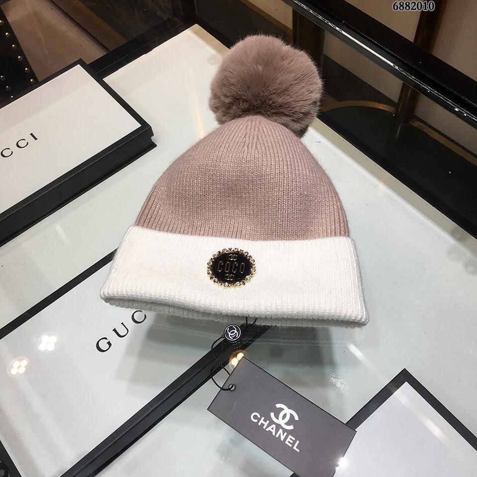 2018 New Exquisite Wool Knit Hat d7dd927cbdb4