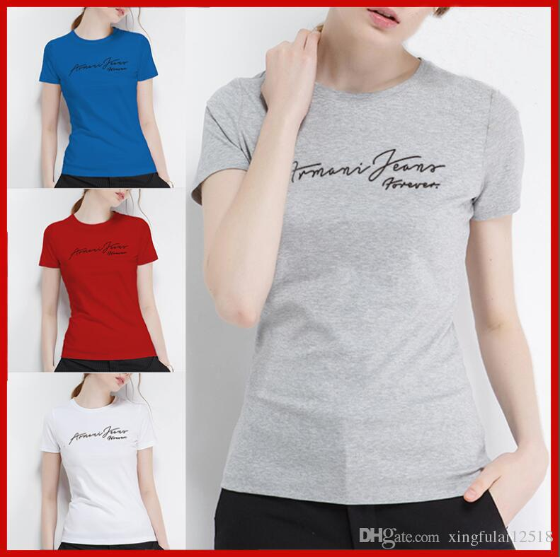 2018New Hot Fashion Brand Clothing WoMen Letter Printing Cotton Polo ... 2191136cf
