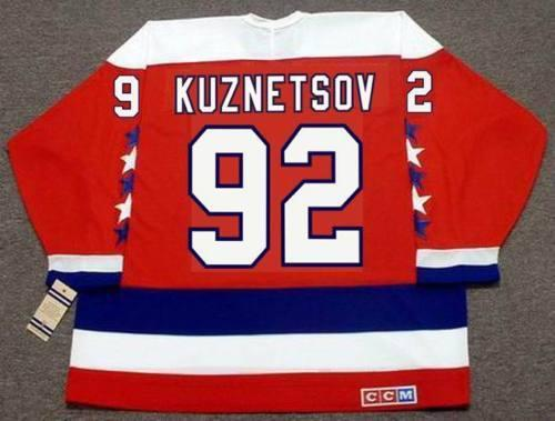 b79f5747f51 EVGENY KUZNETSOV Washington Capitals CCM Vintage Home Hockey ...