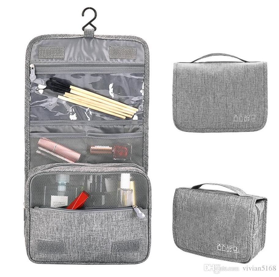 Waterproof Hanging Makeup Bag Nylon Travel Organizer Cosmetic Bag For Women  Necessaries Make Up Case Wash Toiletry Bag Makeup Shop Organic Skin Care  From ... 353c143d8e721