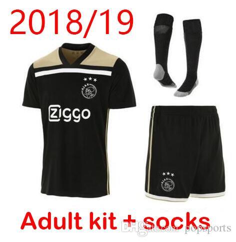 Compre Ajax Soccer Jersey 2018 19 Ajax FC ADULT Kit Jerseys De Distancia  KITS 2018 2019 Personalizado KLAASSEN NOURI Football Uniforme CONJUNTO  COMPLETO CON ... 00454fbd8b731