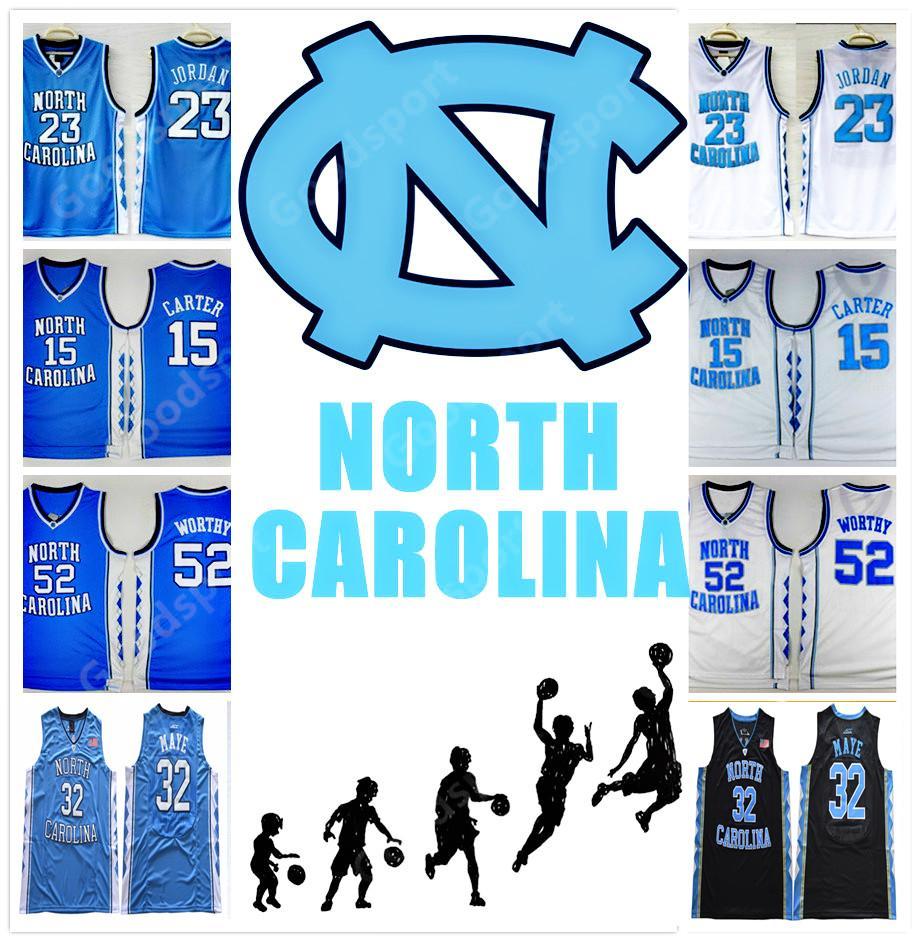 d76809d8079 2019 HOT Stitched Luke Maye 32 NCAA North Carolina COLLEGE SHIRTS 23 MICHAEL  J WORTHY Sport CHEAP WHOLESALE Embroidered NEW From Goodbuysports, ...