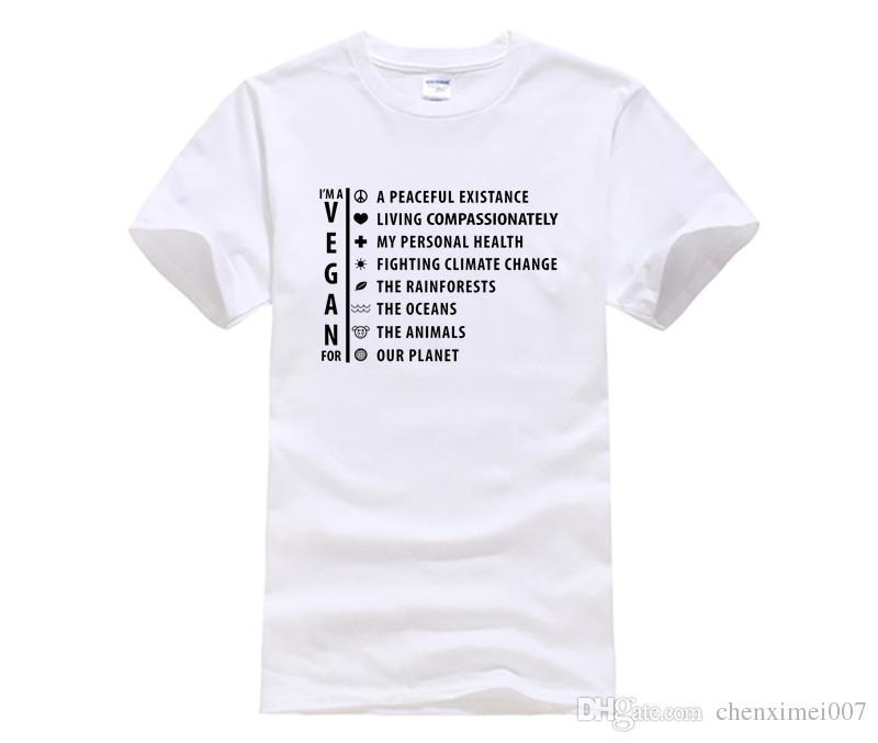 80e19b167e Compre Friends Not Food Camiseta Para Veganos Y Vegetarianos Diseño De  Verano Camiseta De Manga Corta Camiseta De Algodón Kawaii Hombres Mujeres A   14.21 ...