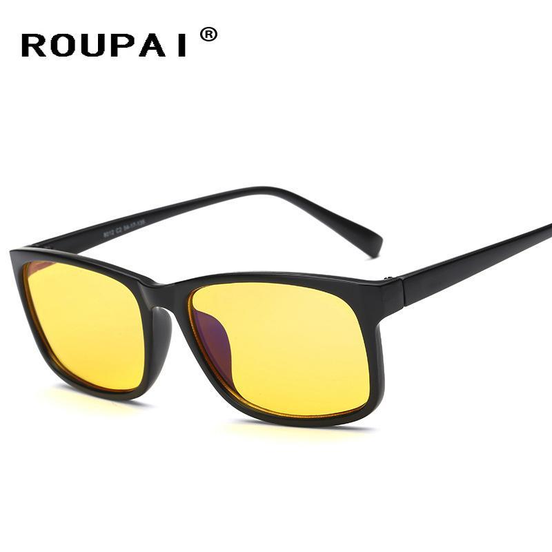 31506494d Compre ROUPAI Anti Óculos De Luz Azul Led Óculos De Leitura Radiação  Resistente Óculos De Computador Gaming EyeGlasses Quadro Óculos H8012 De  Beasy110, ...