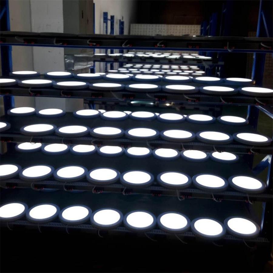18W PIR Led Sensor Downlight Super bright led panel light Infrared Detector Motion Switch Round Flush Mount Light