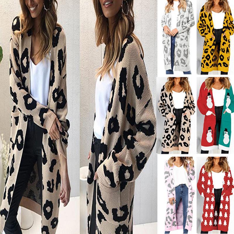 meet a05d1 7425c Größe XL Mode Frauen Strickpullover Casual Cardigan Langarm Jacke Mantel  Outwear Tops Plus