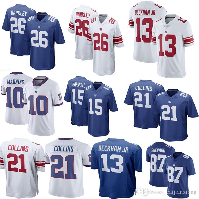 03ed62d2e ... reduced new york giants 13 odell beckham jr 10 eli manning 26 saquon  barkley 21 landon