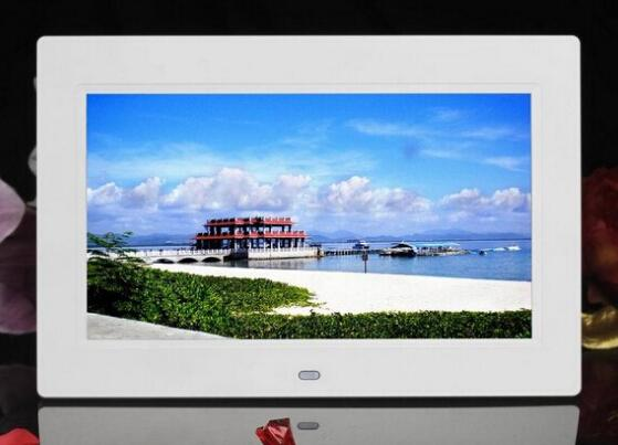Promotion Digital Photo Frame 7 Inch,play Video, Play Music with ...