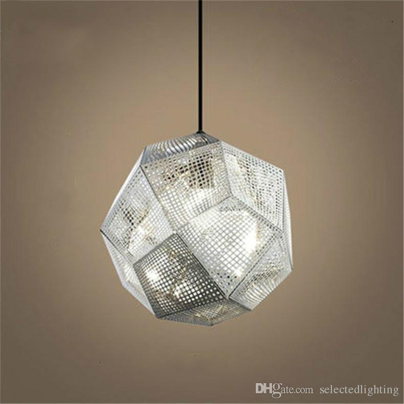 Modern Pendant Lamps D25 32 48cm Tom Dixon Etch Pendant Lights Metal