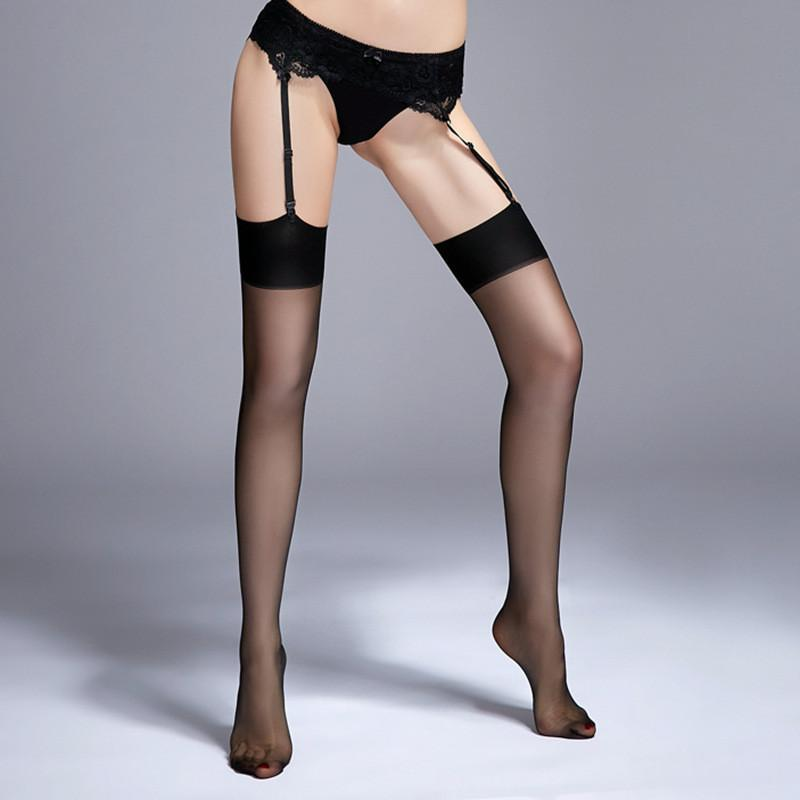 Underwear & Sleepwears Search For Flights Female Sexy Pantyhose Fishnet Thigh High Stocking Hottest Women Thigh-high Stockings Over Knee Tights Sexy Lace Mesh Lingerie Fast Color Stockings