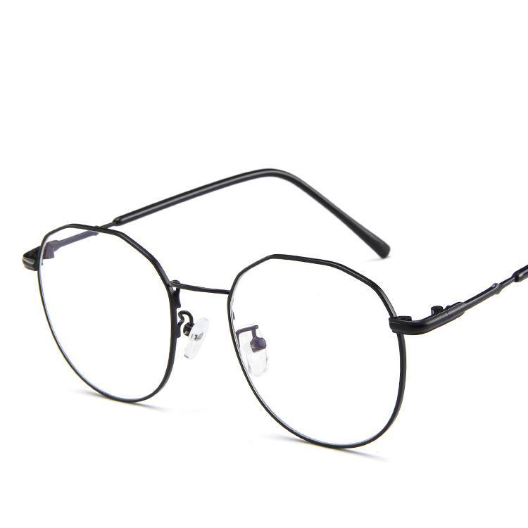 Compre Retro Oversized Coreano Redondo Armação De Óculos Lente Clara  Mulheres Homens Retro Óculos De Ouro Quadro Óptico Óculos Óculos Do Vintage  De ... de86137c32