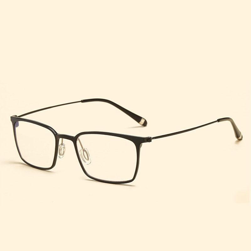 c8855f7cd60 High Quality Optical Glasses Frame Aluminum Magnesium Blue Light Filter Computer  Eyeglasses Anti Radiation Goggles Spectacle Frames Eyewear Designer ...