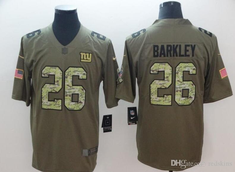 67394209b Saquon Barkley Jersey Odell Beckham Jr NY Giants Lawrence Taylor ...