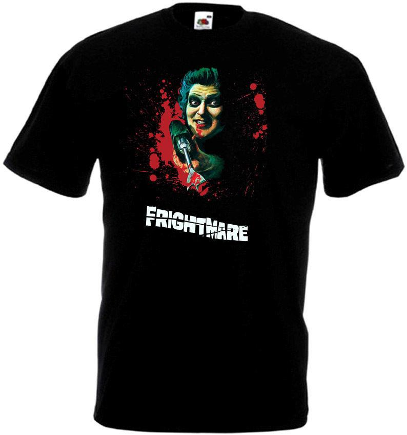 Great Discount Cotton Tee Short Sleeve Printing Machine O-Neck Mens Frightmare V1 T-Shirt Black All Sizes S To 3XL T Shirts