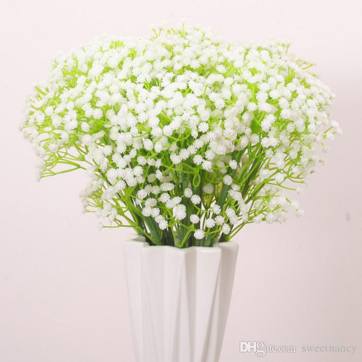 Best Stick In A Vase Of Gypsophila Artificial Flowers Table Flowers