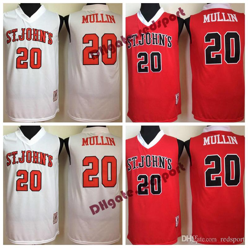 52722de7748 2019 Mens St. Johns University Chris Mullin College Basketball Jersey 20 Chris  Mullin University Basketball Stitched Jerseys From Redsport, $18.56 |  DHgate.