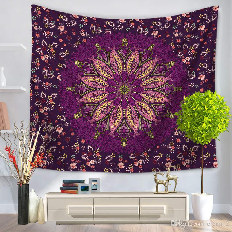 Indian Elephant Tapestry Wall Hanging Bohemian Tapestries Animal Hippie Couch Blanket Retro Home Decor Beach Towel 200cmx150cm Tapestry Carpets & Rugs