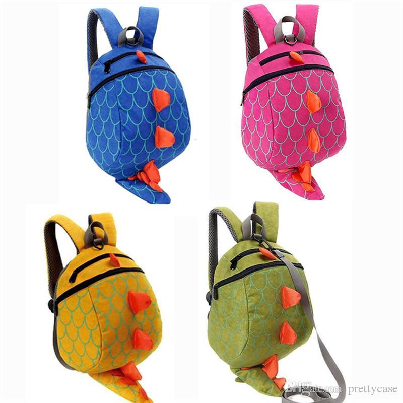 996ba4876c2c The Good Dinosaur Kids Cartoon Arlo Anti Lost Backpack Kindergarten ...