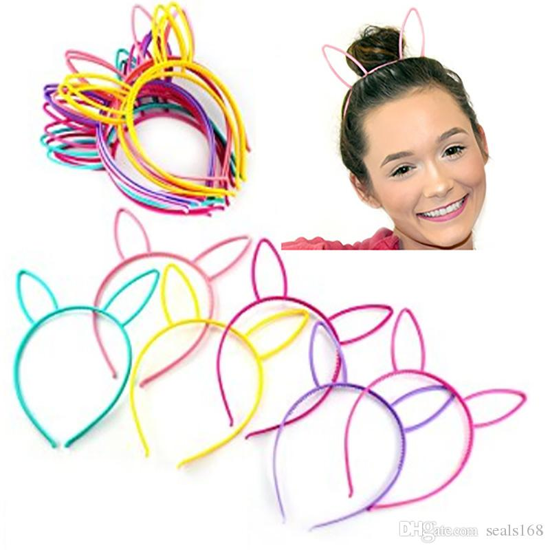 Character Headbands For Children Adult Cat Bunny Rabbit Ear Princess Tiaras Hair Sticks Accessories Multicolored Party Favors Gifts HH7-441
