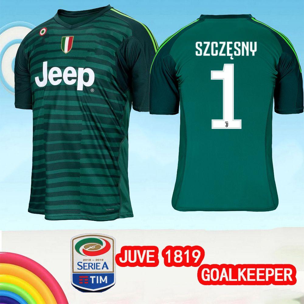 the best attitude 47431 1350f buy juventus 1 szczesny blue goalkeeper soccer club jersey ...