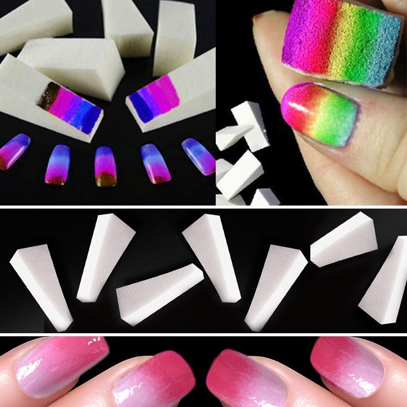 Nails Soft Spongs Nail Buffer Fake Nails Tools for Manicure Set NaiL ...