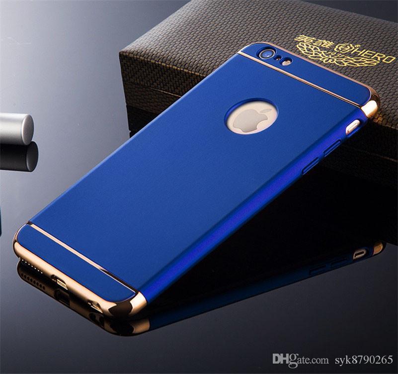 럭셔리 3 일 후면 커버를 들어 아이폰 11 프로 맥스 XR X XS 최대 6 6S 7 8 플러스 바느질로 돌아 가기 사례에서