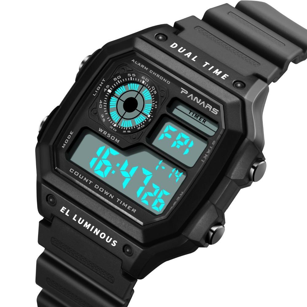 Überlegene 2016 Männer Frauen Digital Led Sport Uhr Silikon Uhren Armbanduhr Armband Relogio Masculino Uhr Uhren Digitale Uhren