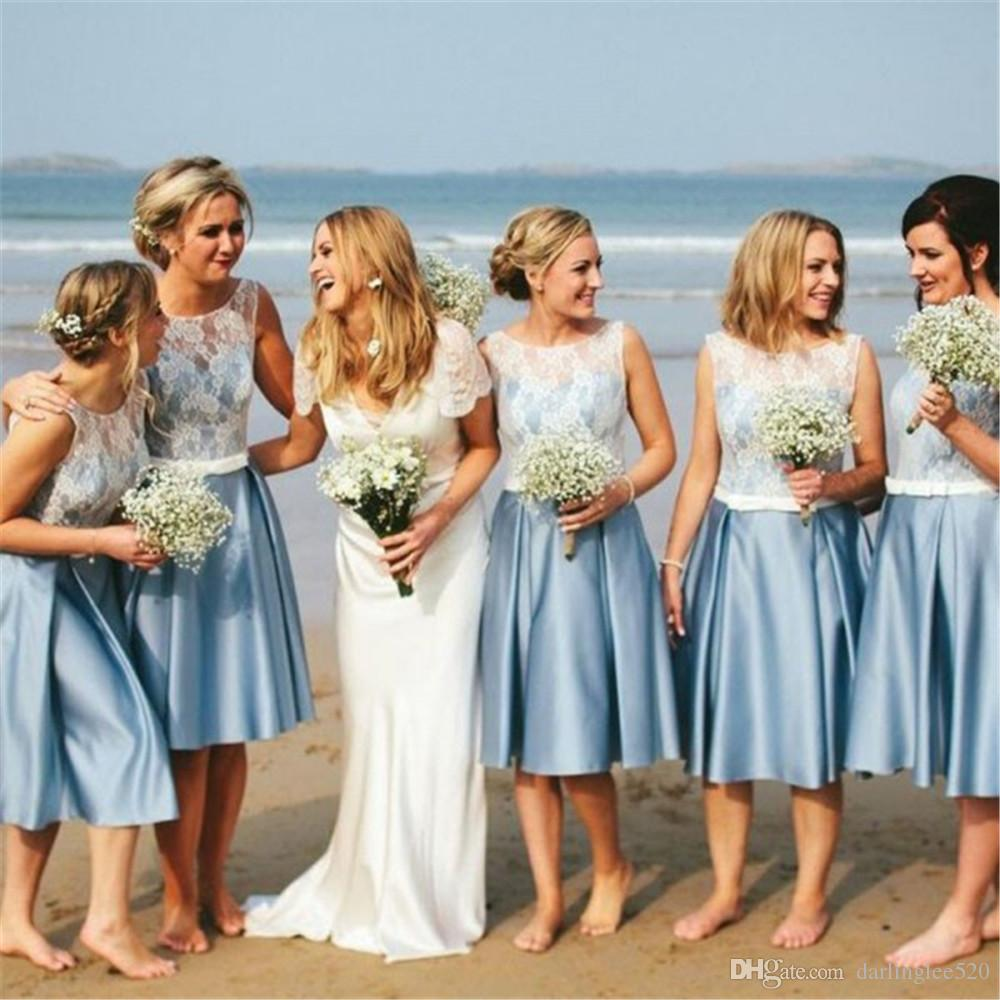 2019 year for women- Wedding Beach bridesmaid dresses pictures