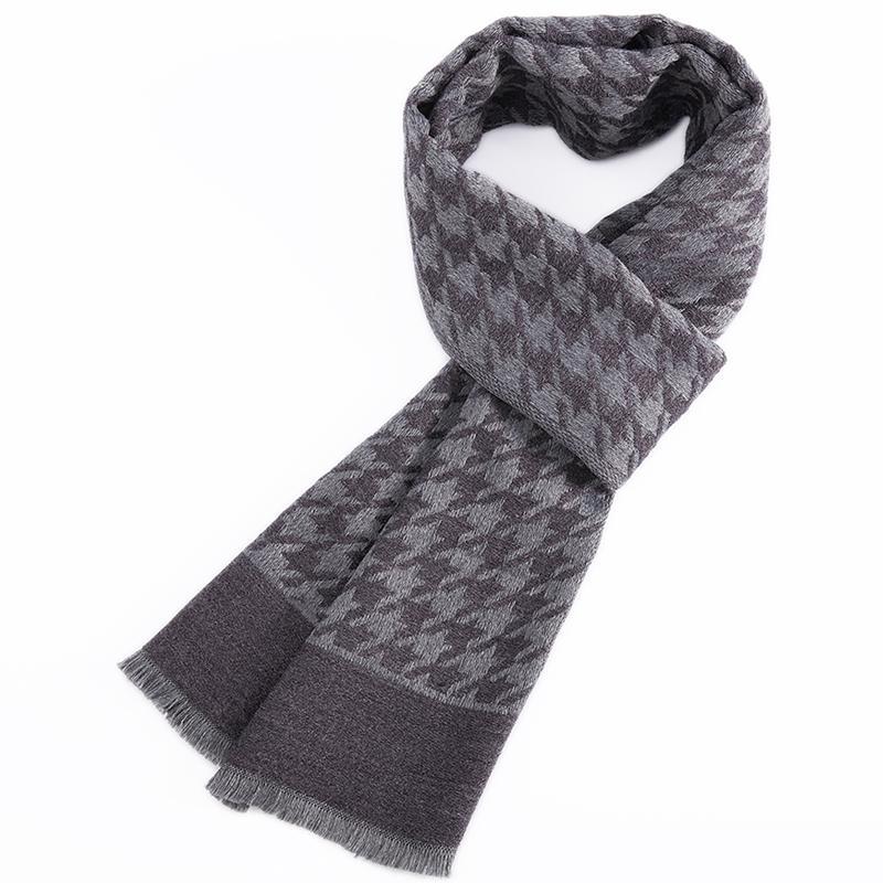 a6b314820e5a Acheter Tailleur Smith Écharpes Pied De Poule Check Classique Cachemire Feel  Foulard D hiver Nouveau Design Haute Qualité Chaude De Mode Cravates De   98.14 ...